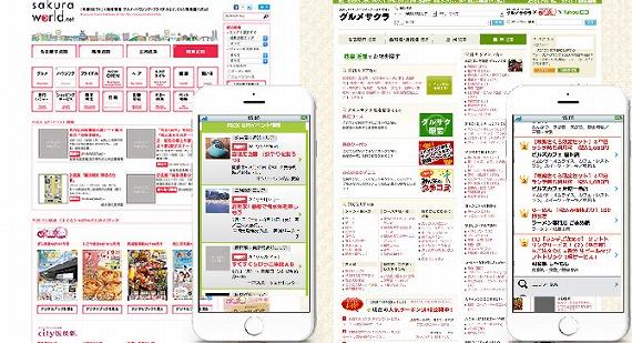 咲楽(さくら)連動型ポータルサイト